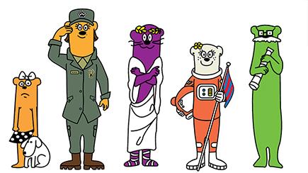 Otter Pops Family