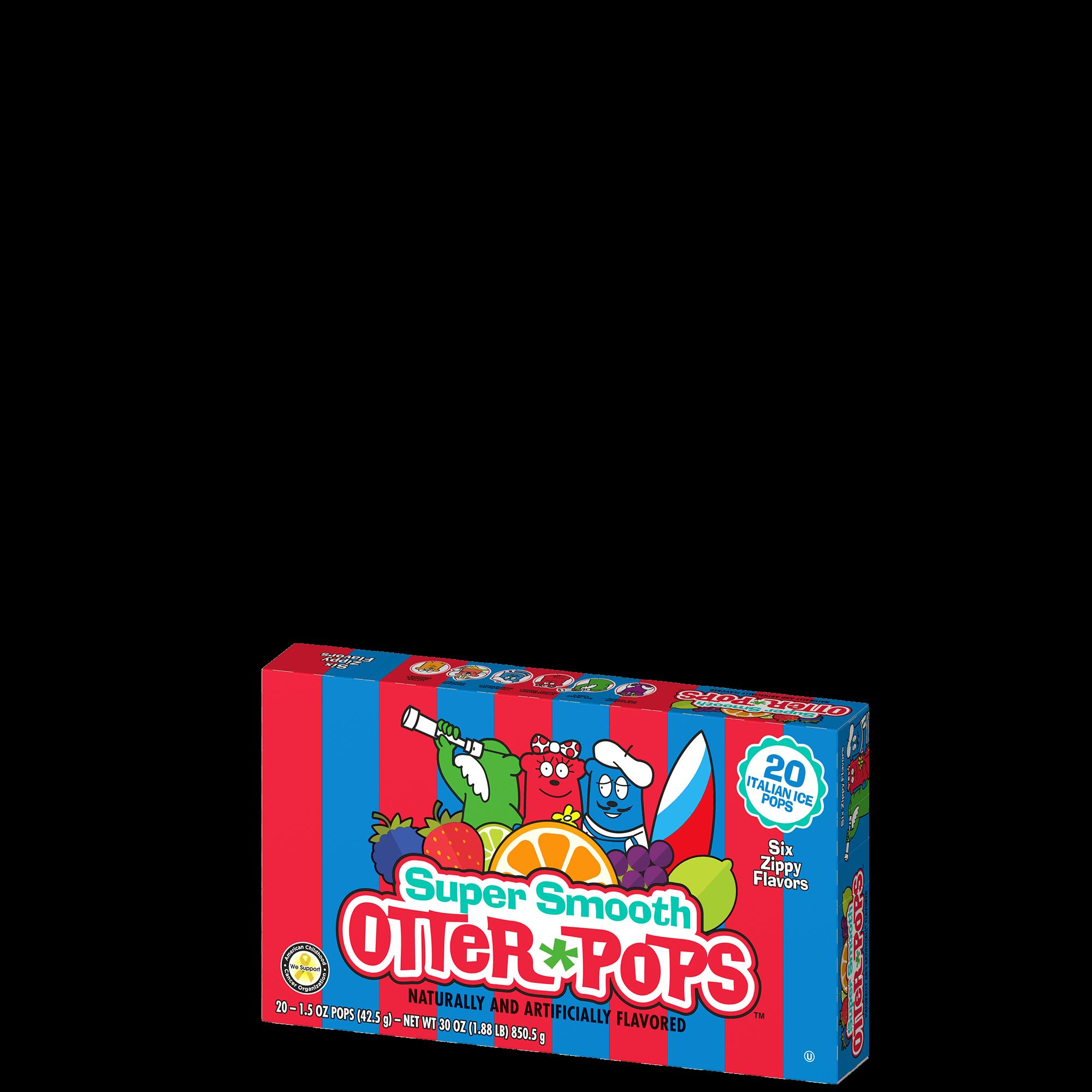 20 ct/1.5 oz – Super Smooth Sorbet Pops