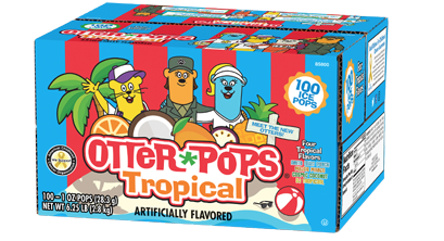 100 ct/1 oz – Tropical Ice Pops