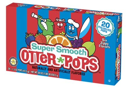 20 ct/1.5 oz – Super Smooth Sorbet Pops