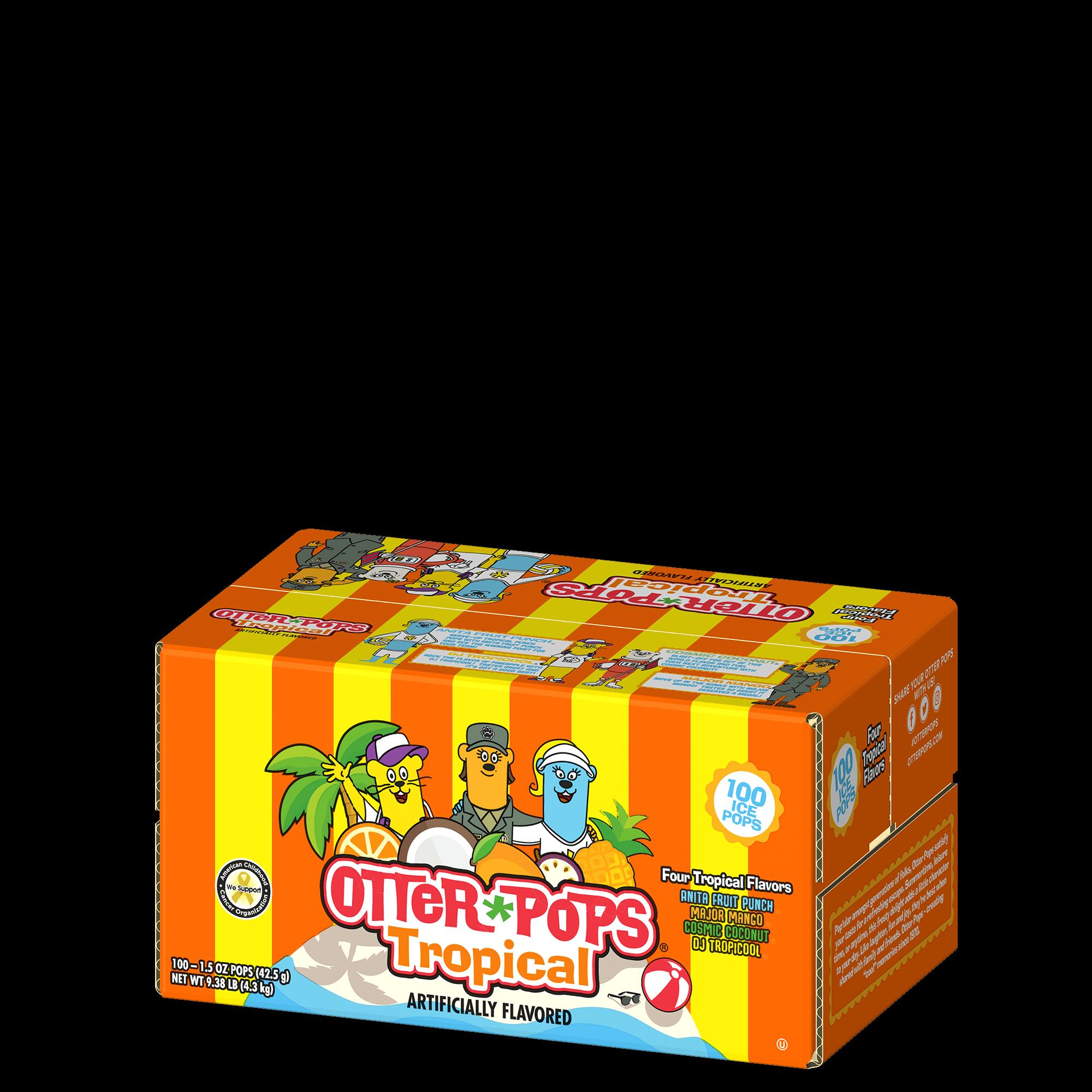 100 ct/1.5 oz – Tropical Ice Pops